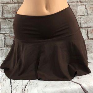 Victoria's Secret Skirt Coverup Brown Stretch S